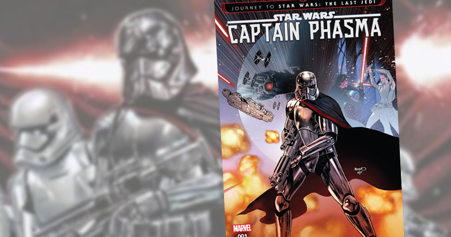 Star Wars Captain Phasma TBP - Destaque