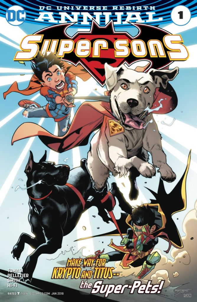 Super Sons Annual - Super Pets