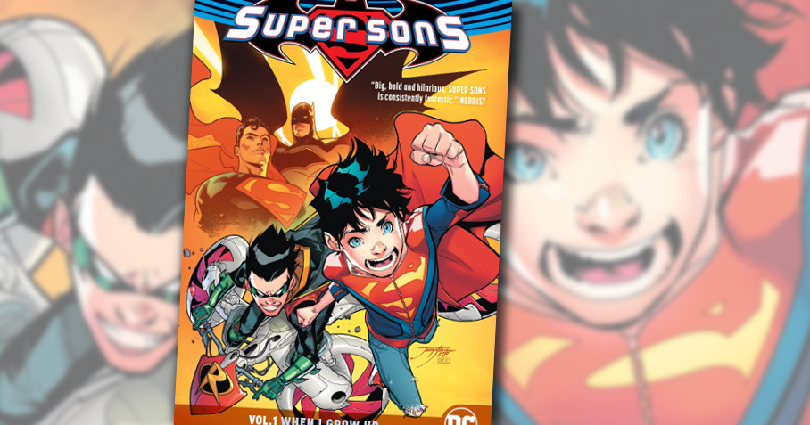 Super Sons - DC Comics TPB - Capa