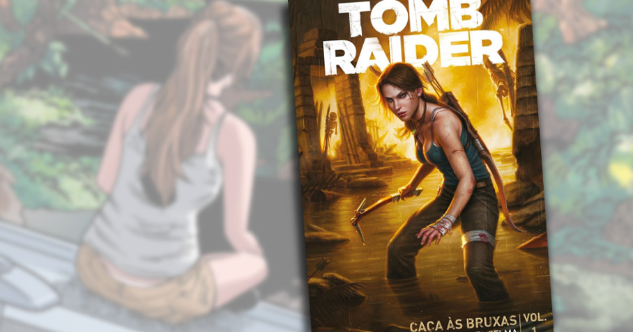 Caverna do Caruso - Tomb Raider - New Pop