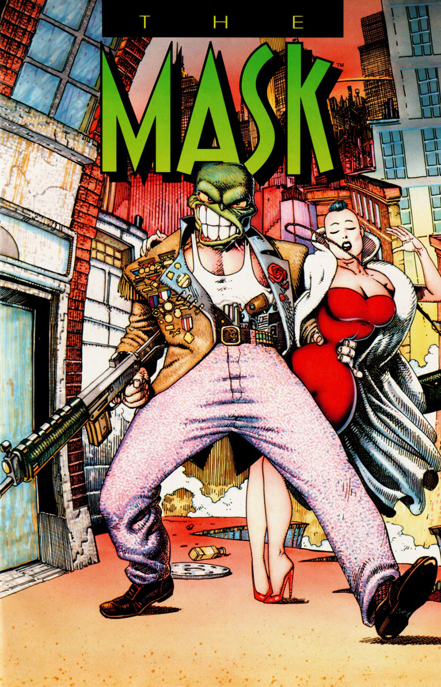 The Mask O Máscara John Arcudi Doug Mahnke