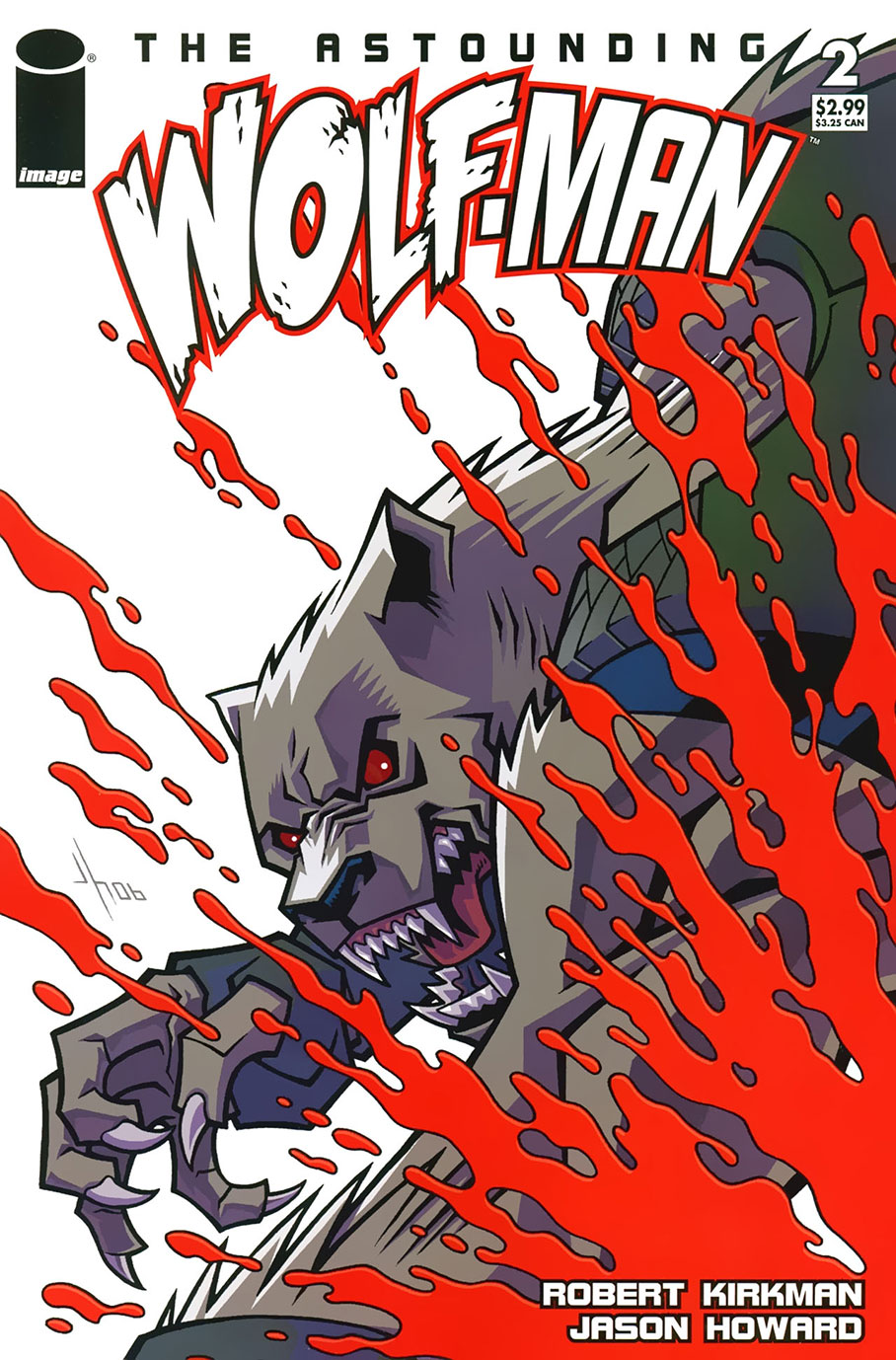 CDC #17 Wolf-Man Robert Kirkman Jason Howard