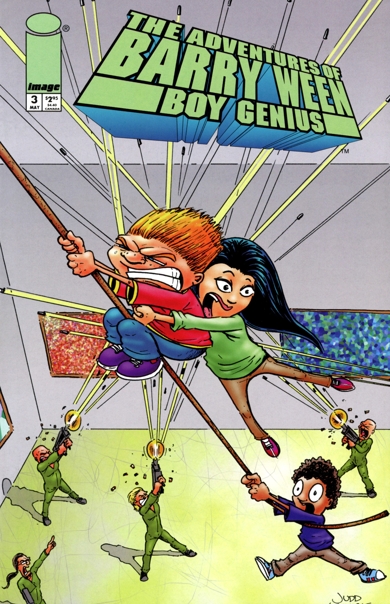 CDC #18 The Adventures of Barry Ween, Boy Genius Judd Winick