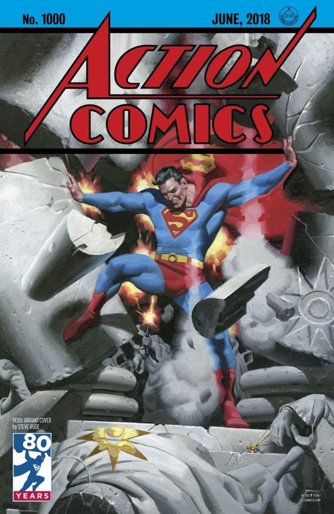 Caverna do Caruso - Action Comics 1000 Capa 2