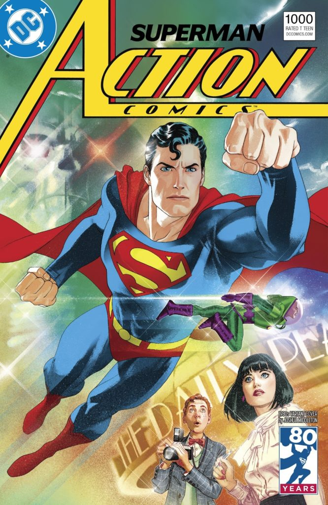 Caverna do Caruso - Action Comics 1000 Capa 1