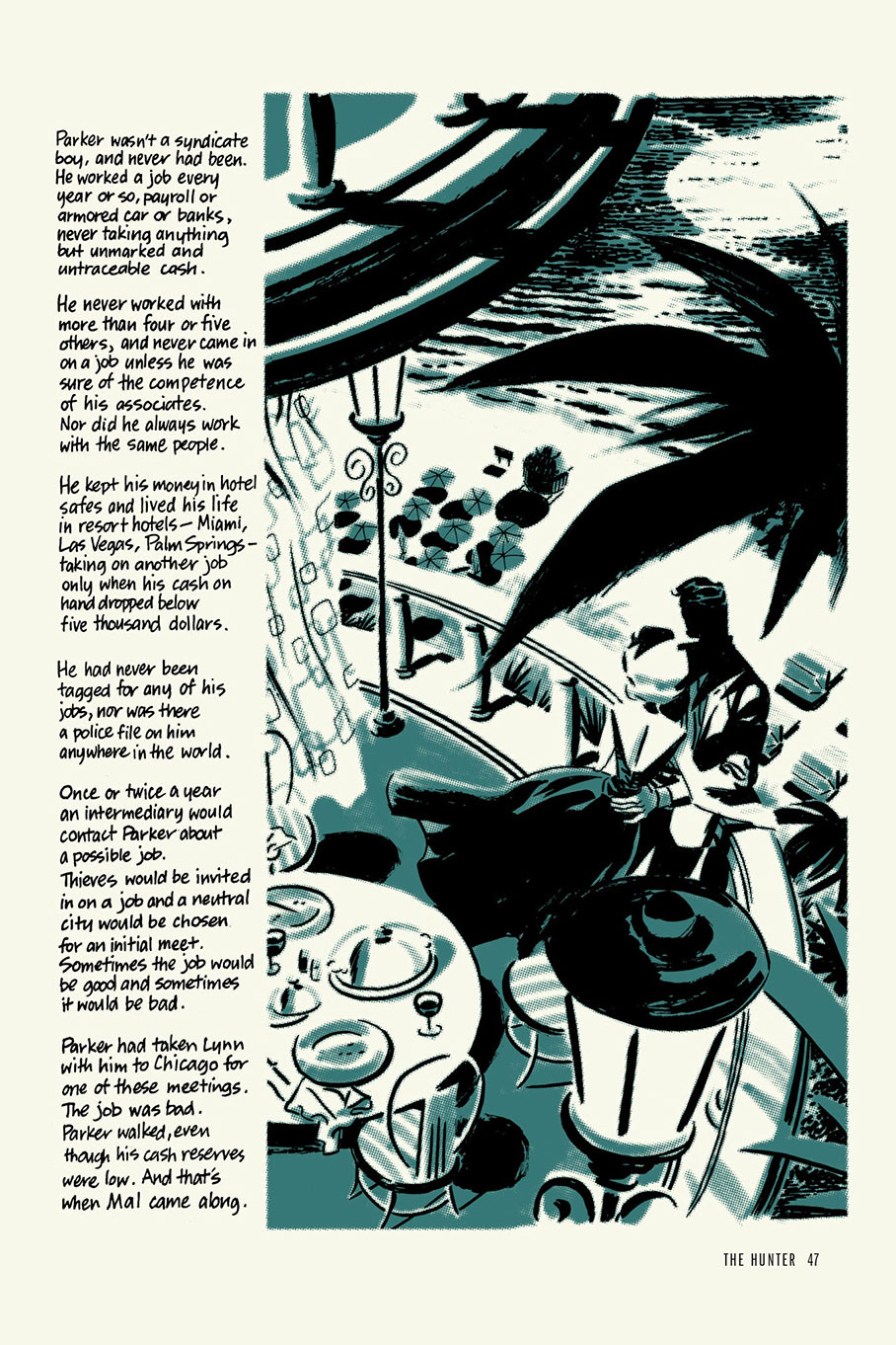 CDC #96 Richard Stark's Parker Darwyn Cooke