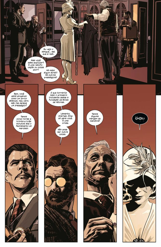 Caverna do Caruso - The Black Monday Murders - Devir - Pagina 1