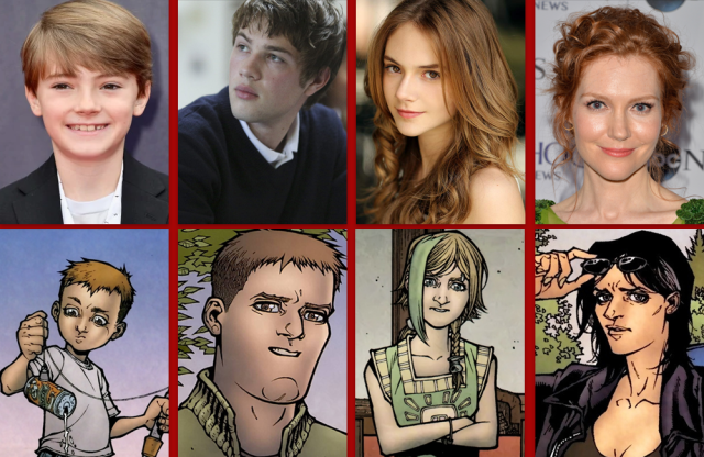 Caverna do Caruso - Locke and Key - Netflix Geektopia - Elenco