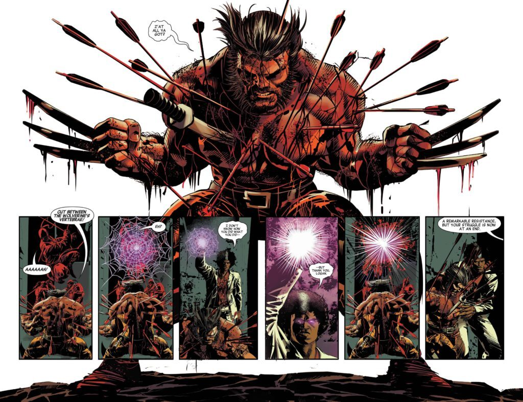 Caverna do Caruso - Vingadores Selvagens - Mike Deodato Jr - Wolverine